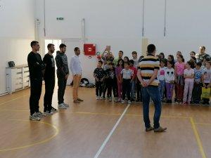 Promocija besplatne škole odbojke i košarke SPD Radnički