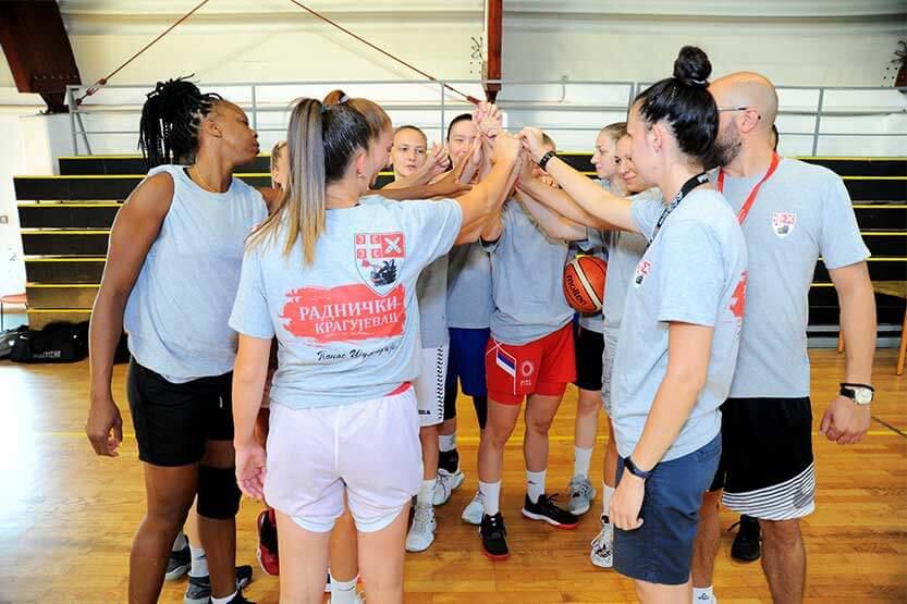 Košarkašice Radničkog hvataju zalet za novu sezonu