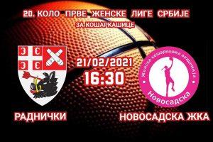 Read more about the article Utakmica sezone za košarkašice Radničkog