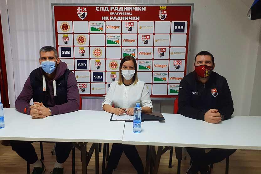 You are currently viewing Košarkaši Radničkog rasterećeni pred put na završnicu Kupa Radivoja Koraća