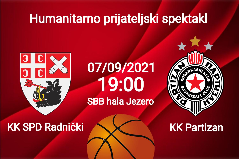 """You are currently viewing Praznik košarke u """"SBB hali Jezero"""": Radnički domaćin beogradskom Partizanu"""